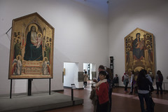 Giotto - Uffizi - Florence (rfzappala) Tags: europe europa italy italia tuscany toscana 2016 florence firenze uffizi gallery museum gothic painting giotto