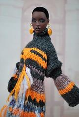 Fancy knitted dress! (dolls&fashion) Tags: habilisdolls habilisdollscreations habilisdollsfashionroyalty knitwear adele fashionroyalty fashion fashionroyaltydolls fashiondolls royalty