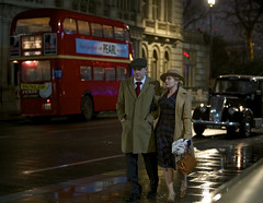 'A Day in the City' (andrew_@oxford) Tags: london city night lights transport rt timeline events 1940s 1950s reenactors reenactment