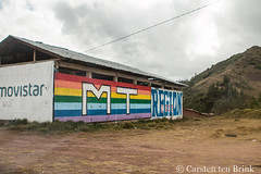 Cusco colours - come and vote (10b travelling / Carsten ten Brink) Tags: 10btravelling 2017 america americas andean andes carstentenbrink chinchero cusco cuzco iptcbasic latin latinamerica perou peru peruvian perú qosqo qusqu sacredvalley southamerica suedamerika urubamba vallesagrado vallesagradodelosincas advertising election highlands lasierra mural politics river serrano sierra tenbrink