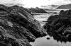 You don't have to see the colour to know that it's there (StefanKleynhans) Tags: ocean beach waves rocks sunset motion pool puddle blackandwhite bw mono contrast nikond7100 forster nsw australia