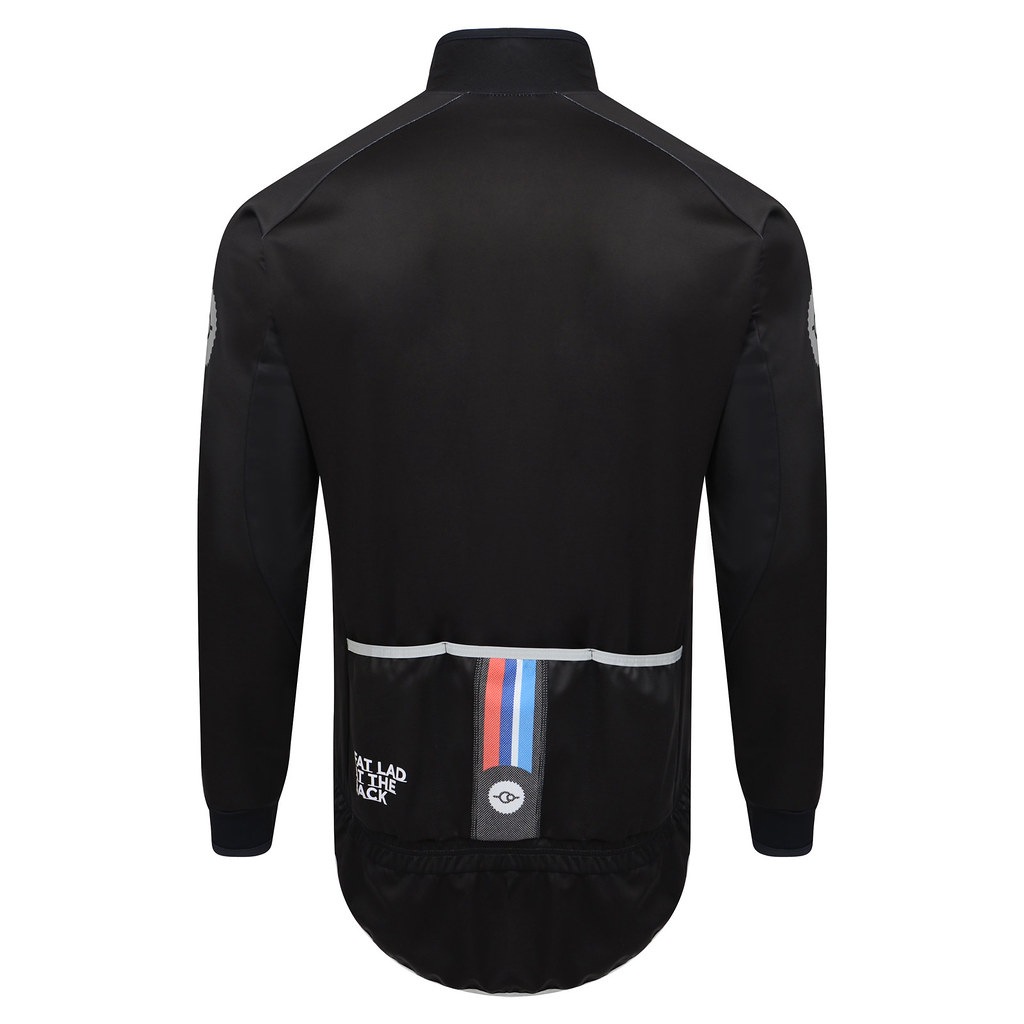 c19d04c5a MENS Gaffer Jacket - FLAB Black (Fat Lad At The Back) Tags  cycling