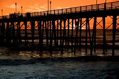 2017 Oceanside Pier At Sunset (DrLensCap) Tags: oceanside pier at sunset california ca pacific ocean robert kramer