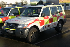 Meath County Fire & Rescue Service 2004 Mitsubishi Pajero MFRS L4V 04MH9862 (Shane Casey CK25) Tags: meath county fire rescue service 2004 mitsubishi pajero mfrs l4v 04mh9862 light four wheel drive vehicle 4 all awd jeep 4x4 red yelllow battenburg bluelights blue lights lightbar emergency brigade firebrigade engine nikon d7200 officer fireman firemen firefighter firestation station fighter response crew white