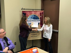 Participant Stephanie (Rise and Shine Toastmasters) Tags: toastmasters leadership publicspeaking confidence mesa arizona saturday fun excitement training friendship networking