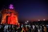 DSC_3328 (rajashekarhk) Tags: mahamastakabhisheka gomateshwara bahubali shravanabelogola karnataka southindia sky devotees beauty blue rajashekar hkr religus rituals jainism jain colours culture india