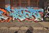 DISTORT (TheGraffitiHunters) Tags: graffiti graff spray paint street art colorful nj new jersey legal wall newark distort