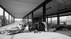 SLEEPING (paologmb) Tags: poverty 24mm face street squatting structure urban drugs candid suprise dark architecture creepy outside sleeping leicamtyp240 individuals
