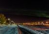 Akureyri Iceland (Einar Schioth) Tags: auroraborealis innbærinn winter evening sky snow canon clouds cloud coast trees tree frost lightpost nationalgeographic ngc nature northernlights landscape lake photo picture outdoor iceland ísland ice akureyri einarschioth