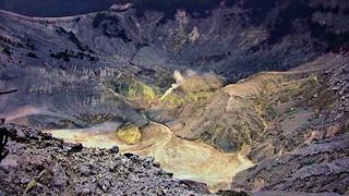 INDONESIEN, Java, Am Vulkan - Tangkuban  Perahu  (Queens-Krater ), 17150/9643