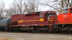 DMIR 403, Adams, Neenah, 24 Feb 2018 (kkaf) Tags: neenah adams dmir sd40t3 tunnelmotor a404