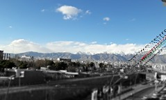Shemiran (afs.harp) Tags: mountains range slopes hillside south north tehran iran capital blue sky snow
