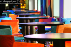 Live Colour 1 (sminky_pinky100 (In and Out)) Tags: lounge bar cruiseship colours tables stools interior indoors ship vacation colourful omot