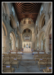 Nave Looking East (veggiesosage) Tags: southwell southwellminster nottinghamshire aficionados gx20 grade1listed cathedral minster norman romanesque sigma1020mmf456