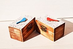 Wedding ring box (nikolina.mileva3) Tags: set two wedding ring boxes box rustic proposal inspiration for rings