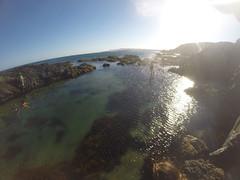 Found the rock pool! (zassle) Tags: beach coastal landscape rockpools scenery geocountry exif:focallength=277mm exif:model=hero3blackedition geostate geocity exif:make=gopro geolocation camera:model=hero3blackedition camera:make=gopro exif:isospeed=100 exif:aperture=ƒ28