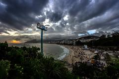 Na Pedra do Arpoador - Rio de Janeiro (mariohowat) Tags: pedradoarpoador arpoador riodejaneiro entardecer natureza brasil fisheye samyang8mm samyang sunset pôrdosol brazil