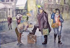 Limpiabotas (benilder) Tags: acuarela personajescalle acuarelistasavanzados watercolor watercolour aquarelle humanfigureinthestreet shiner cireurdechaussures