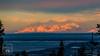 Alpenglow Shadows (fentonphotography) Tags: alaska mountains snowcoveredmountains winter alpenglow trees landscape clouds