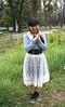 Beauty Surrounds Us (emotiroi auranaut) Tags: garden beauty beautiful lady woman singer jpop japan japanese cute adorable face hair braids skirt grass plants flowers trees