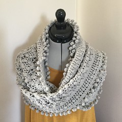 Cleckheaton Cowl (S1lverst1tcher) Tags: handmade crocheted crochet crocheting cleckheatoncowl cowl cleckheaton