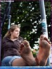 1511008_498250693623269_1838673778_n (paulswentkowski1983) Tags: dirty feet soles filthy female street barefooter black pitch calloused