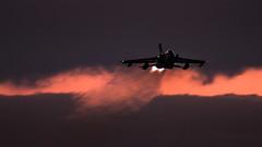 Evening Departure. (Steve Cooke-SRAviation) Tags: 15sqn panavia raf 500mm tornadogr4 stevecooke marham lightningll tornado sraviation 31sqn canon 100400mm 5d4 tonka