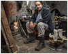 Man Shed (AEChown (away now)) Tags: fisherman shed manshed fire warmth boots socks fishinghut fishing man portrait environmentalportrait documentary socialdocumentary wood