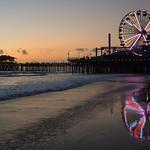 Sunset on Santa Monica Pier thumbnail
