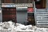 Return Of Sam (Trish Mayo) Tags: storefront oldsignage lowereastside snow winter