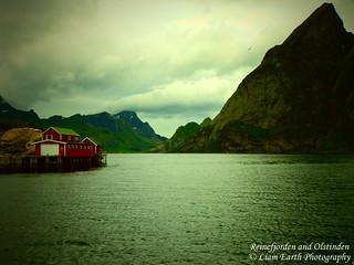 Reinefjorden and Olstinden