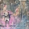 Perro3,70x70cm (luis lara cabrera) Tags: dog perro art arte lara abstract acrilico acrylic