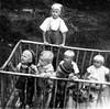 My life was not always easy (sakarip) Tags: sakarip me myself vintagephoto film bw monochrome 1950s analog analogue chilldren childhood children blackandwhite finland