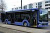 Seitenportait des Probebusses am Scheidplatz (Frederik Buchleitner) Tags: 4000 bus leihbus linie144 lionscity man munich münchen omnibus testbus
