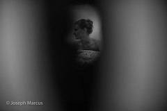 Through the keyhole (Joseph Marcus) Tags: friends people home door