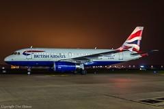 British Airways G-EUPU HAJ at Night (U. Heinze) Tags: aircraft airlines airways nikon night haj hannoverlangenhagenairporthaj eddv planespotting plane flugzeug