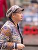 Happy Shopper (Pexpix) Tags: female hat portrait dof candid woman street lady hongkong kowloon hk 攝影發燒友