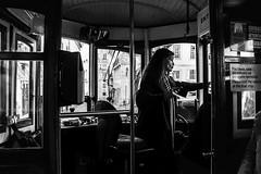 LISBONA (Claudia Celli Simi) Tags: lisbona portogallo 2017 dicembre tram mezziditrasporto bw bn biancoenero blackandwhite monocromo contrasto