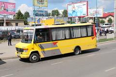 2017-06-18, Lviv, Vul. Horodotska (Fototak) Tags: autobus bus minibus mercedes ukraine tec 609158 lviv