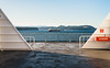 The Coast (eric.vanryswyk) Tags: the coast vancouver island nanaimo british columbia canada nikon d610 nikkor 50mm f18 sea ocean georgia straight bay harbour nature ship shipping ferry bcferries boat naval oceanic forest trees afternoon winter february blue