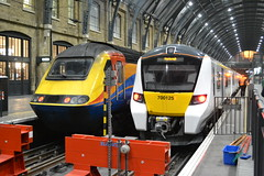Virgin Trains East Coast HST 43061 & Great Northern Desiro City 700125 (Will Swain) Tags: london kings cross station 17th november 2017 greater capital city south east train trains rail railway railways transport travel uk britain vehicle vehicles country england english vtec vt virgin coast hst 43061 great northern desiro 700125 midlands