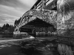 Old Bridge in New Bridge (cjmartin@nl.rogers.com) Tags: bridge old winter cold relic