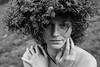 zigmantephoto (zigmantephoto) Tags: bw blackwhite women curlyhair face freckles