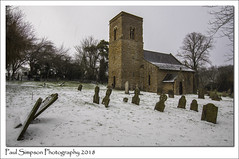 St Mary Magdalene, Rothwell, Lincolnshire (Paul Simpson Photography) Tags: lincolnshire church rothwell stmarymagdalene catholic village villagechurch oldbuilding snow snowing weather paulsimpsonphotography nature february2018 trees graves headstones history lincolnshirewolds rural villagelife england imagesof photosof imageof photoof churchtower snowshower weatherphotos weatherphotography churchinthesnow photosofchurchesinsnow