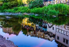 IMG_1168 (Alan Hempseed) Tags: 2016 deanvillage edinburgh reflections