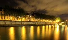 Stroll-y of my Life (Eye of Brice Retailleau) Tags: angle beauty composition landscape panorama paysage perspective scenery scenic view backpacking wideangle architecture bâtiment europe france paris french brown beige colour colourful reflection reflet mirror night nighttime nightscape nuit water waterscape river stream riviere fleuve seine bridge city urban cityscape skyline