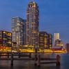Kop van Zuid, Rotterdam (NL) (evb-photography) Tags: nightphotography rotterdam kopvanzuid
