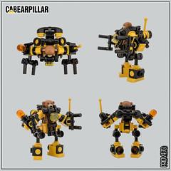 Cabearpillar Power Loader B-948X - Protoype (Priovit70) Tags: lego powerloader classicspace teddybear heavyweights exosuit afol moc olympuspenepl7