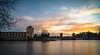 Nymburk ГЭС @Sunrise (gorelin) Tags: nymburk czech czechia powerstation hydropower sun sunrise clouds sky skies sony sonya7 fe28f20 28mm ilce7m2 river elbe