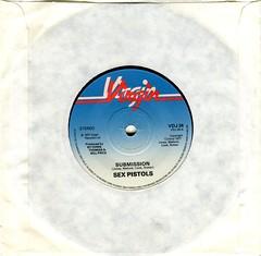Sex Pistols - Submission (1977) (stillunusual) Tags: sexpistols submission nevermindthebollocks nevermindthebollocksheresthesexpistols bonustrack vinyl record punk punkrock 1970s 1977